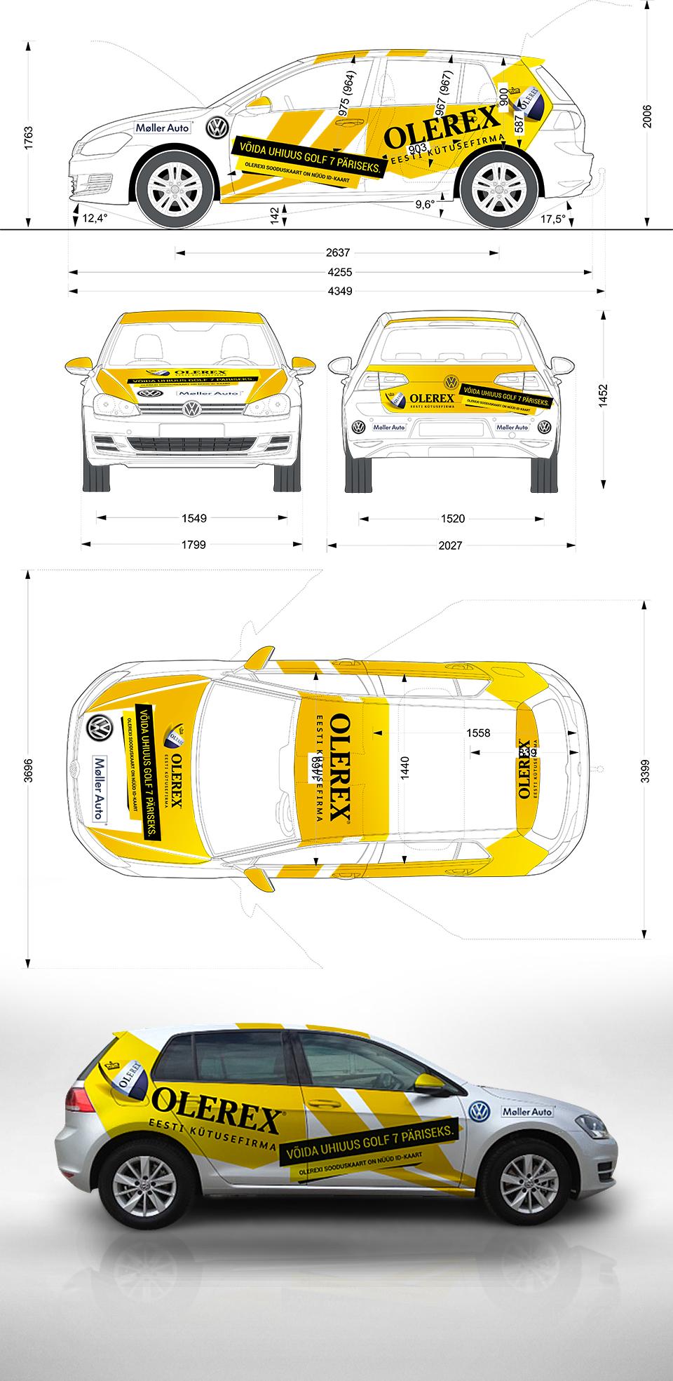 Cars-Olerex-VWGolf